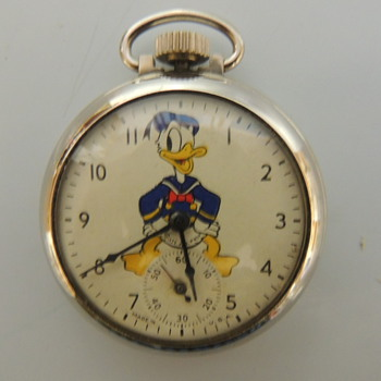 DONALD DUCK POCKET WATCHES 1939 - Pocket Watches