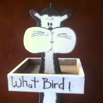Bird Feeder - Folk Art