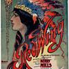 "SHEET MUSIC,ART NOUVEAU 1907 ""RED WING"" INDIAN-INTERMEZZO, Kerry Mills."