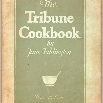 "1925 - ""The Tribune Cookbook"""