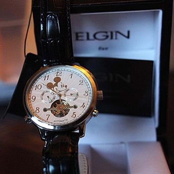 2009 23 Jewel Elgin Mickey - Wristwatches