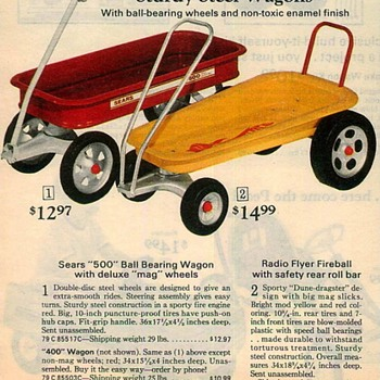 "Unrestored '72 Radio Flyer Fireball ""Dune Dragster"" w/rollbar"