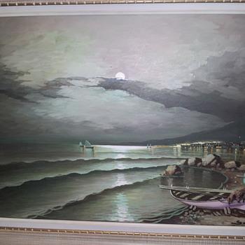 Mystery Painting - Visual Art