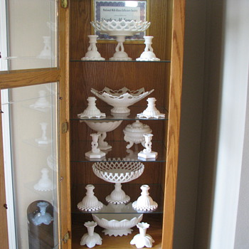 Westmoreland Milkglass