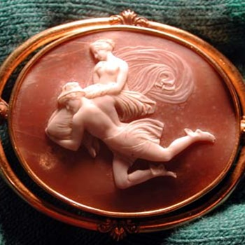 Rare cameo of Mercury - Victorian Era