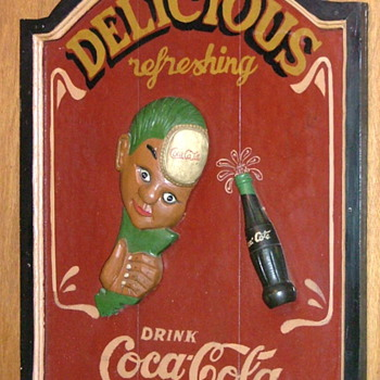 Sprite Boy sign - Coca-Cola