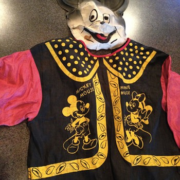 Vintage Mickey Mouse Costume