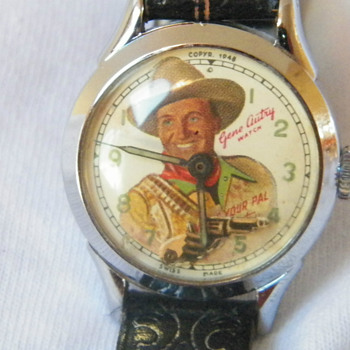 1951 New Haven Gene Autry &quot;Animated&quot; Wristwatch - Wristwatches