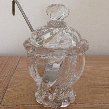 "Baccarat mustard pot ""Bambou"" - Kitchen"