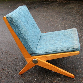 Knoll Scissor Chair - Furniture