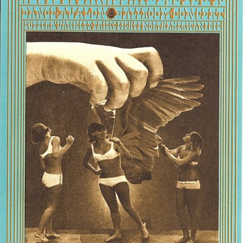 Three Bares, by Victor Moscoso