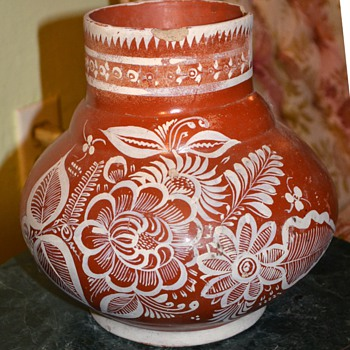 Old Mexican Olla - Art Pottery
