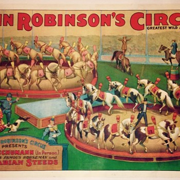 "John Robinson Circus - ""Ernest Schumann""  (1924) - Posters and Prints"
