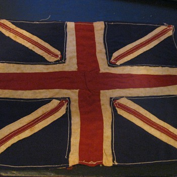 WW1 Trench Art Flag