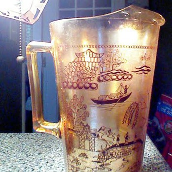 My grandmother's pitcher - Glassware