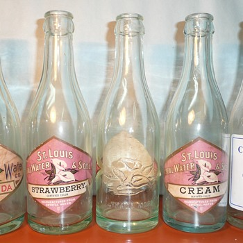 More St. Louis Crystal Water & Soda Co. Bottles - Bottles