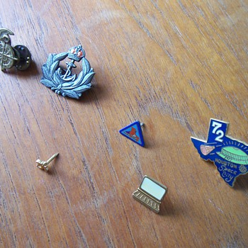 Favorite Pins - Naval, Fraternal, and Rollerskatal - Medals Pins and Badges