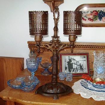 Vintage 1920s Lamp - J.J. Braze - N.Y.C. - Lamps