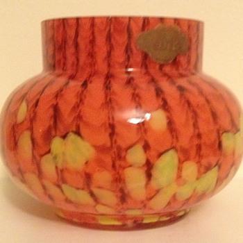 Welz PéDéBé labelled rosebowl - Art Deco