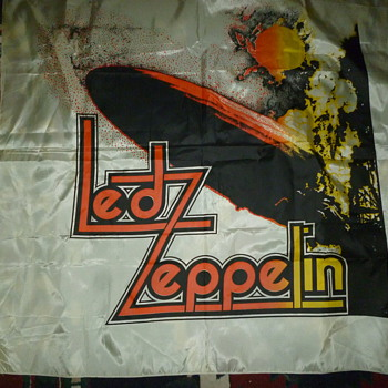 led zepplin banner - Music