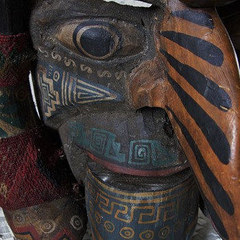 Antique Native American Ceremonial Mask (???) - Visual Art