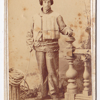 some very unique CDV&#039;s