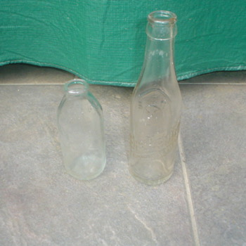 Dr pepper bottles - Bottles