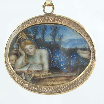 Stella Maris Memento Mori Pendant - Fine Jewelry