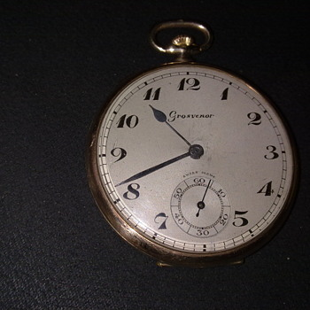 GROSVENOR  POCKET WATCH