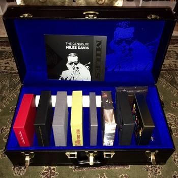 Miles David Complete Columbia Studio Recordings in Trumpet Case