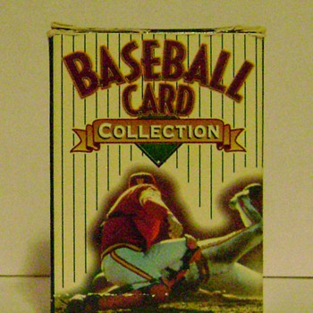 Baseball Cards & Plaque - Baseball