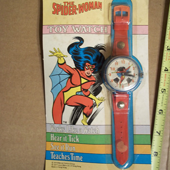 Marx Spider-Woman Toy Watch  - Wristwatches