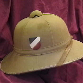 WW II German Kriegsmarine (Navy) Pith Helmet - Military and Wartime