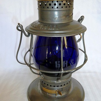 Grand Rapids &amp; Indiana Railroad Lantern