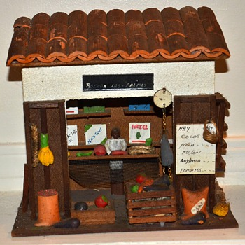 Frutas! - Fruitstand Model from Caracas, Venezuela - Folk Art
