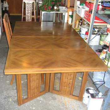 Mid Century Table - Furniture