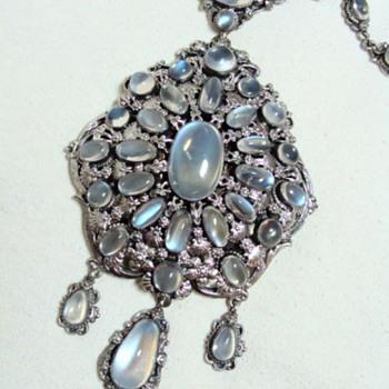 Antique Moonstone Necklace - Fine Jewelry