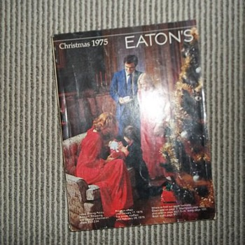 Eaton&#039;s 1975 Christmas catalogue - Books