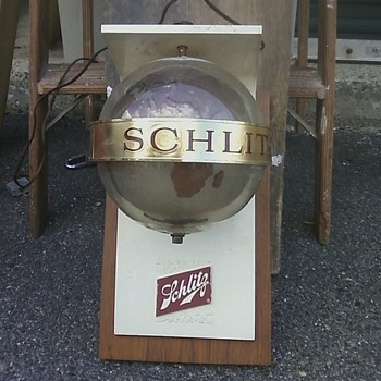Schlitz Bar lights - Breweriana