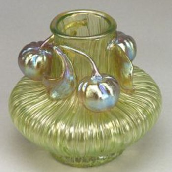 Loetz Boule Vase - Art Glass
