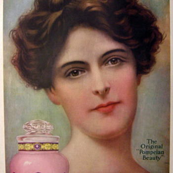 Pompeian Massage Creme Poster - Advertising