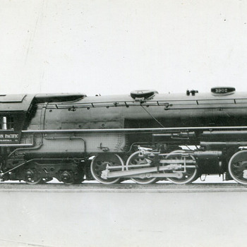 The Union Pacific's Challenger Locomotives…#3902, and 3937