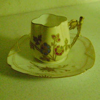 Limoges Cup and Saucer - China and Dinnerware