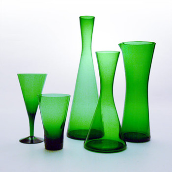 WINSTON set, Per Lütken (Holmegaard, 1956) - Art Glass