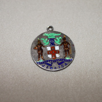 Jamaica Sterling and Enamel Pendant - Fine Jewelry