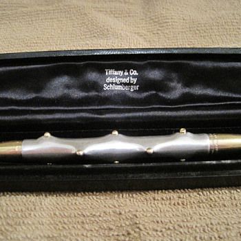 Vintage Tiffany and Co. designed by Schlumberger Pen
