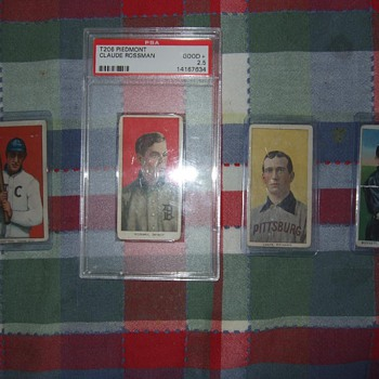 VikingFan, this one's for you. t206 and t212 baseball cards.