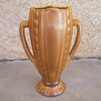 Pottery Vase Handles unmarked - Pottery