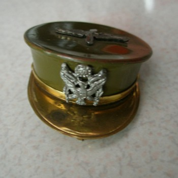 WW2 Army Headgear Sweetheart Locket