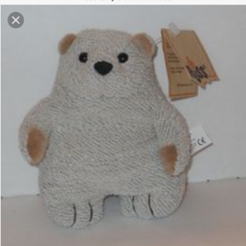 Wife's favorite unknown Russ Teddy/Polar Bear Plush